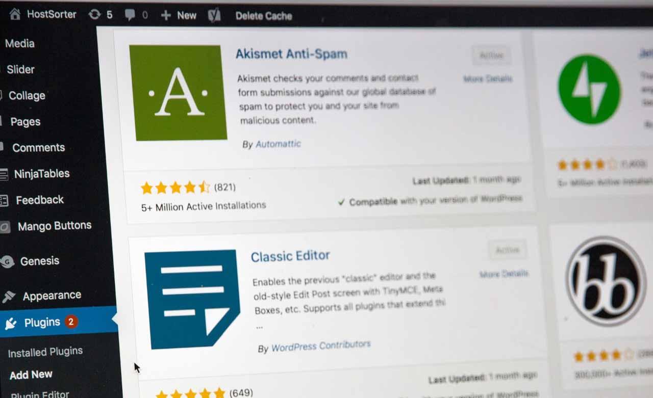 Top 10 free Plugins in WordPress